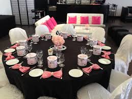 chanel baby shower s bridal shower chanel theme the magnolia event boutique