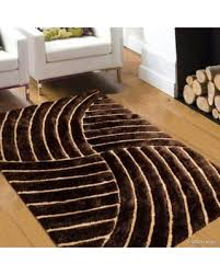 3d Area Rugs Don T Miss This Deal On Allstar Brown Shaggy Area Rug With 3d