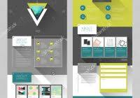 single page brochure templates psd 9 professional samples
