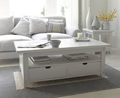 Small White Coffee Table The Great White Coffee Table Is Inspired By Clapboard Coastal