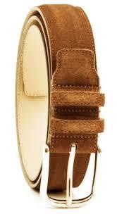 light brown suede belt belt in light brown suede skolyx