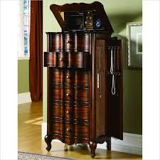 Tall Jewelry Armoire Innovative Large Jewelry Armoire With Mirror Armoire Outstanding