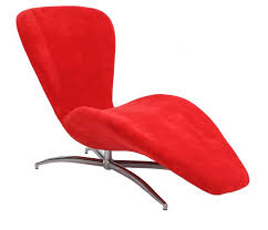 Reclining Chaise Lounge Chair Chintaly 2415 Lng Red Red Finish Reclining Chaise Lounge Chair