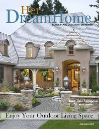 house plan magazines house plans inspiring outdoor living spaces dfd house plans