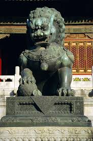 asian lion statues high quality stock photos of bronze lion statue