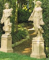 garden and lawn large garden statues beautiful large