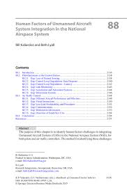 human factors of unmanned aircraft system integration in the