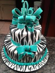 created by lit u0027l d cakes u0026 cupcakes zebra striped birthday cake