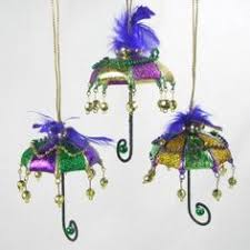 katherine s collection mardi gras umbrella frog ornament 28 29740