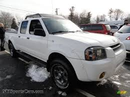 nissan frontier xe king cab 2004 nissan frontier xe v6 crew cab 4x4 in avalanche white photo