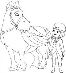 film princess sofia colouring pages to print christmas pictures