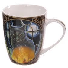 Decorative Cat Box Black Cat Mug Bewitched Lisa Parker Decorative Gift Box Bone