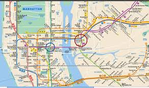 Grand Central Map Aca 2014 Jfk To Fordham