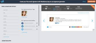 make every email count with smart email signatures from wisestamp
