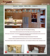 team pro fine wood finishing cabinets refinishing stairs kitchen