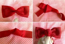 hair bow ribbon how to make a ribbon hair bow in how to make a bobble tie