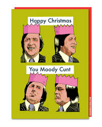 modern toss periodic table of swearing moody christmas card modern toss