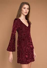 rumours bell sleeve dress threadsence