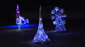 Eiffel Tower Decoration Twinkling Eiffel Tower Christmas Decoration Youtube