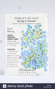 forget me not seed packets flower seed packet woodland forget me not myosotis sylvatica