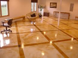 light stained concrete floors modern glossy light brown staining concrete floors living room