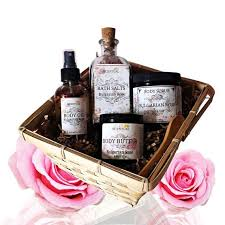 organic spa gift baskets organic gift basket organic spa set beauty gift by scentualaroma