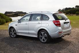 2016 holden captiva boasts fresh design elements more technology