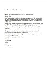 cover letter outline 21 job application cover letters email