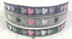 glitter ribbon wholesale 7 8 dazzle glitter ribbon grosgrain glitter ribbon solid