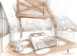 chambre en perspective dessin d une chambre en perspective 7 am233nagement de combles