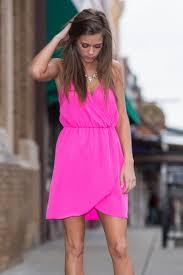 pink boutique dresses it s party time dress hot pink the mint julep boutique