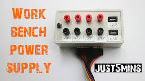 make a multi function power supply for all your home projects