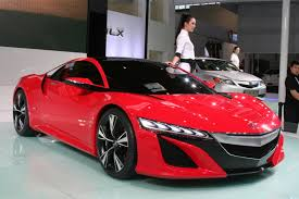 honda supercar concept acura nsx concept at beijing motor show 北京国际汽车展览会