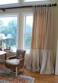 Burlap Drapery Trend Alert Burlap Curtains Modernize