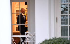 barack obama leaves oval office for last time daily nigerian