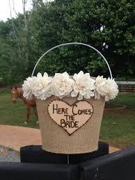 Basket For Wedding Programs 68 Best Flower Baskets Images On Pinterest Flower