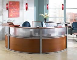 Reception Station Desk Ofm Reception Desk 5 Unit Marque Plexi Reception Station 55316