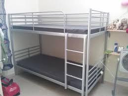 Ikea Bunk Bed Ikea Bunk Bed Hack More Ikea Kura Bunk Bed Before - Ikea double bunk bed