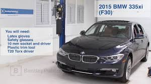 bmw 3 series 2012 2015 how to replace cabin microfilter diy youtube