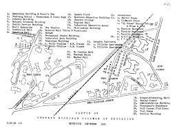 University Of Michigan Campus Map by Typed Campus Map 1952 Maps Western Michigan College Of Education