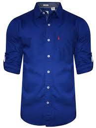 royal blue levis royal blue casual shirt 32907 0001 cilory
