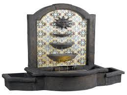 terrific curvature design indoor floor water fountain with glass