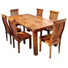 dining table rustic shabby chic dining table chairs home timber