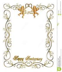 50th Wedding Anniversary Invitation Cards 50th Anniversary Hearts Clipart China Cps