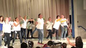 donegan elementary pssa pep rally watch me whip youtube