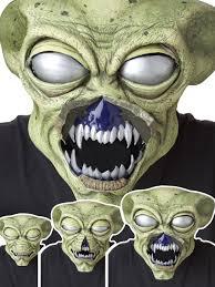 zombie ani motion mask costume craze white werewolf ani motion