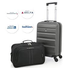 united baggage aerolite 22x14x9 american united delta airlines max abs