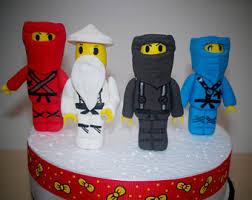 ninjago cake toppers ninjago cake topper etsy