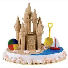 serenity by the sea castle cake wilton
