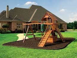 Backyard Ground Cover Ideas Backyard Swing Set Ground Cover Outdoor Furniture Design And Ideas